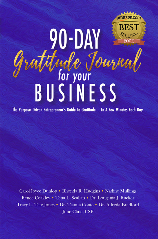 Front cover 90-Day Gratitude Journal for Your Business
